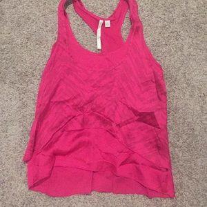 Lauren Conrad pink tank xs
